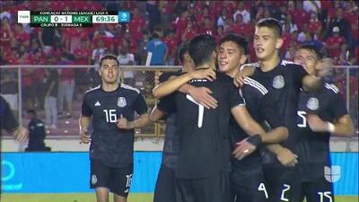 ¡GOOOL! Edson Álvarez anota para Mexico