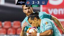 Xolos en caída libre: pierde ventaja de dos goles ante Mazatlán