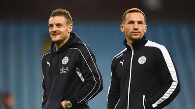 Vardy y Drinkwater del Leicester convocados a Inglaterra; Rooney se queda fuera