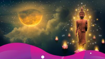 Llega la Luna de Wesak, la luna sagrada del budismo