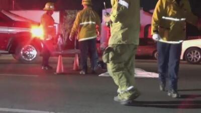 Muere una mujer tras ser atropellada por un conductor que se dio a la fuga en el sur de los Ángeles