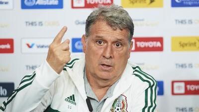 """'Tata' Martino: """"Estas distracciones, con un rival de mayor jerarquía, te dejan fuera de la Copa"""""""