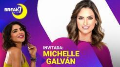 Michelle Galván se apodera de El Break de las 7 en compañía de Ale Espinoza