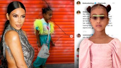 """Kim Kardashian bautiza a su hija North como la """"máxima fashionista"""" y su abuela lo confirma"""