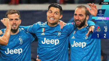 Juventus vence Lokomotiv y se clasifica a Octavos