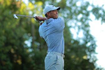 Las mejores imágenes de Tiger Woods este jueves en el WGC México Championship