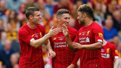 Liverpool volvió al trabajo con victoria amistosa ante Bradford City