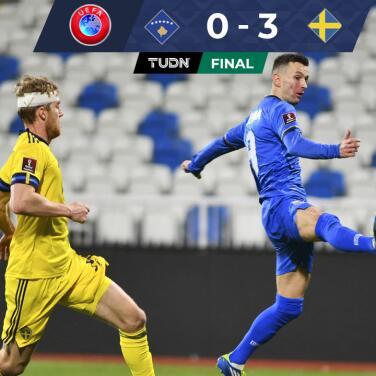 Con asistencia de ensueño de Zlatan, Suecia venció a Kosovo