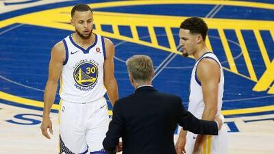 Compañeros y 'rivales': Klay Thompson le quita el protagonismo a Stephen Curry
