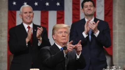 Transcript of President Donald J. Trump's State of the Union Address