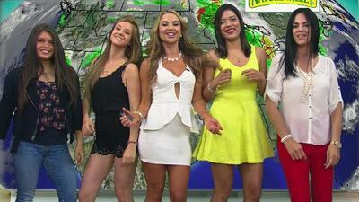 Ximena bailó el weather con las fans de Despierta América