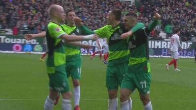 Werder Bremen 4-0 Augsburgo: revive los goles del partido