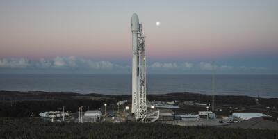 En fotos: SpaceX lanza con éxito un cohete desde California