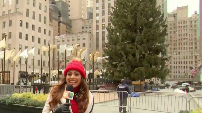 """""""Todo el mundo está invitado"""": así se prepara Rockefeller Center para encender el árbol virtual"""