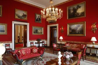 Fotos: Melania Trump le pone nueva cara a las salas de la Casa Blanca