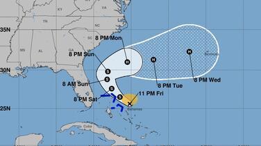 Se forma la tormenta tropical Humberto en el Atlántico