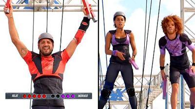 'El Rasta' y Daniela acabaron con los hermanos Kellerman en la pista de aire