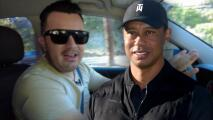 El Gordo y La Flaca recreó el recorrido que hizo Tiger Woods antes de su accidente automovilístico