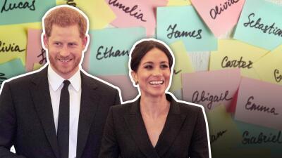 Arrancó la puja: estos son los nombres para el bebé de Meghan y Harry que dominan las apuestas (y los que no)