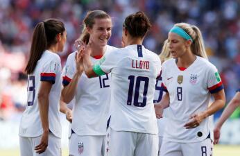 En fotos: el poderío del Team USA contra Chile y su paso a Octavos de Final en el Mundial