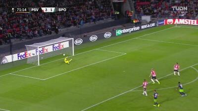 Tremendo derechazo de Fernandes y se le niega el segundo al Sporting