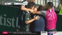 'Chicharito' Hernández hunde el balón en la red y vuelve a empatar para el Galaxy