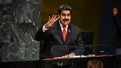 """Maduro le dice a la Asamblea General de la ONU que Venezuela """"es víctima de una agresión permanente"""""""