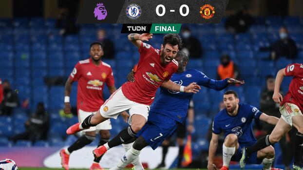 Tablas entre Chelsea y Manchester United que festeja el City