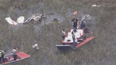 Una avioneta cae en los Everglades de Florida y se reportan víctimas fatales
