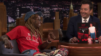 """Lil Wayne talks about Tha Carter V and performs """"Dedicate"""" on Tonight Show"""