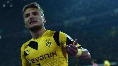 Immobile salva de otra derrota al Dortmund