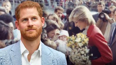 El video de la emotiva visita del príncipe Harry al mismo hospital que su mamá pisó hace 30 años