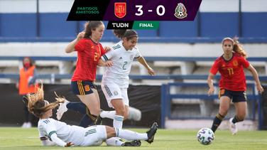 México femenil cayó ante España en duelo amistoso en Marbella