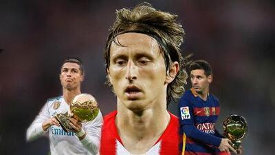 Luka Modric, el único que puede quitarle el Balón de Oro a Messi o Cristiano Ronaldo