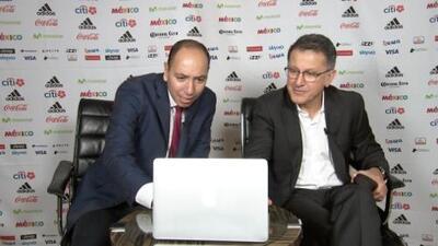 Osorio armó su sorteo con el simulador de Univisión Deportes ¡Descúbrelo!
