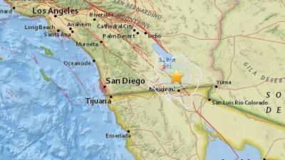Un temblor de magnitud 3.8 mueve el condado de Imperial, cerca de Calexico