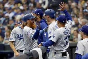 Entrada x entrada: Dodgers le quitan el invicto a Brewers en la final de la Liga Nacional