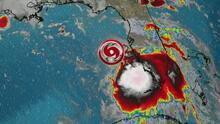 Por segunda vez en menos de tres semanas, la costa del Golfo sufriría el azote de un huracán
