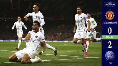 Con Mbappé basta y sobra : Sin Neymar y Cavani, el PSG venció 0-2 al Manchester United