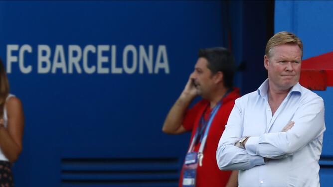 Koeman reveló detalles de la salida de Luis Suárez