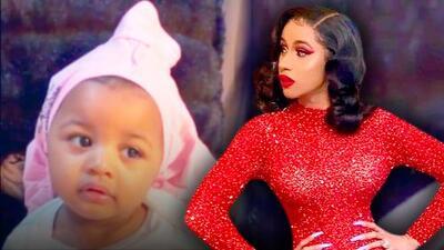 A un mes de cumplir su primer año, la hija de Cardi B le demuestra quién manda