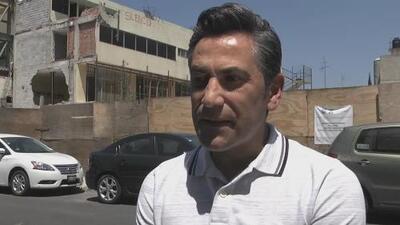 """""""Son imágenes que te quedan por siempre"""": un padre narra la pesadilla que vivió al perder a su hijo en el terremoto de México"""