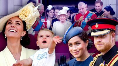 El debut del príncipe Louis, la reaparición de Meghan y otros detalles del tradicional Trooping the Colour