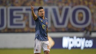 Vestidor roto... revelan pelea a golpes de James en Colombia