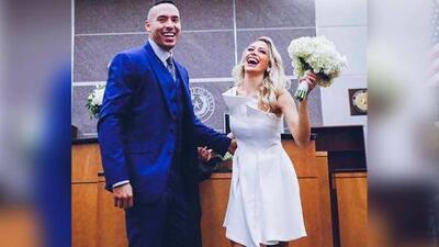 Carlos Correa y Daniella Rodríguez contraen matrimonio en una corte de Houston