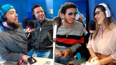 (VIDEO) Sebastián Yatra hizo sonrojar a Monse por iniciativa de Alejandro y Maikito