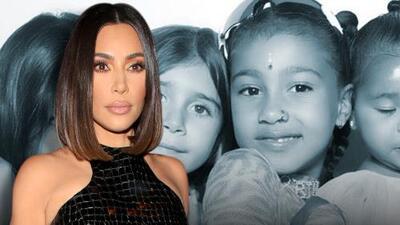 Kim Kardashian aclara por qué su hija de 6 años ya luce un 'piercing' en la nariz