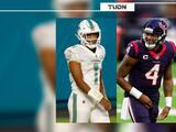 Fuentes: Deshaun Watson aceptaría trade a Dolphins por Tua Tagovailoa