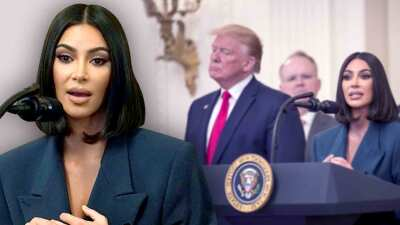 Kim Kardashian se reúne con Trump en la Casa Blanca (y este fue el elogio que recibió por parte del presidente)