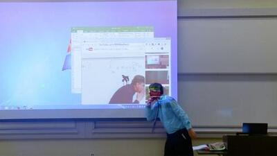 La broma de un profesor de matemáticas que es sensación en redes sociales